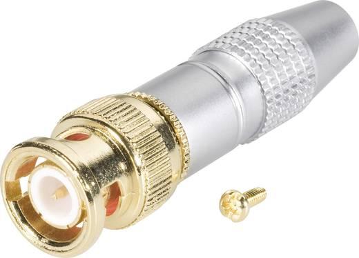 24K008 BNC-connector Stekker, recht 75 Ω 2 onderdelen