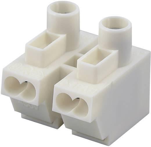 Apparaataansluitklem Flexibel: 0.5-1.5 mm² Massief: 0.5-1.5 mm² Aantal polen: 2 1 stuks Wit
