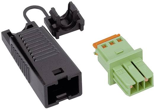 Netstekker Serie (connectoren) WINSTA KNX Bus, recht Totaal aantal polen: 2 3 A Groen WAGO 1 stuks