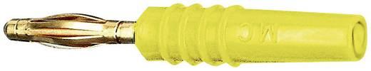 Stäubli SLS205-L Lamellenstekker Stekker, recht Stift-Ø: 2 mm Geel 1 stuks