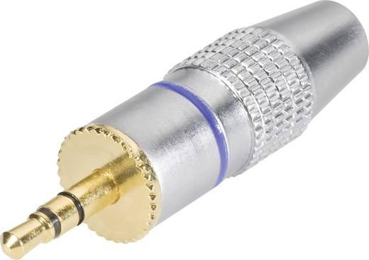 Kash Jackplug 3.5 mm Stekker, recht Aantal polen: 3 Stereo Zwart 2 stuks
