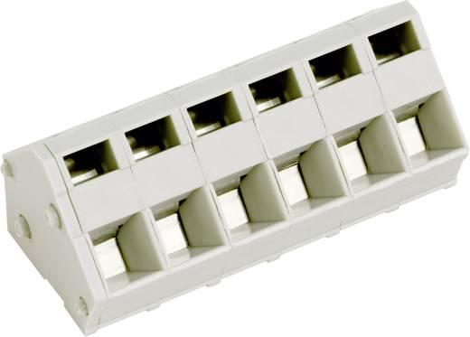 Veerkachtklemblok 2.50 mm² Aantal polen 4 AK3000/4-5.0 PTR Kiezel-grijs 1 stuks