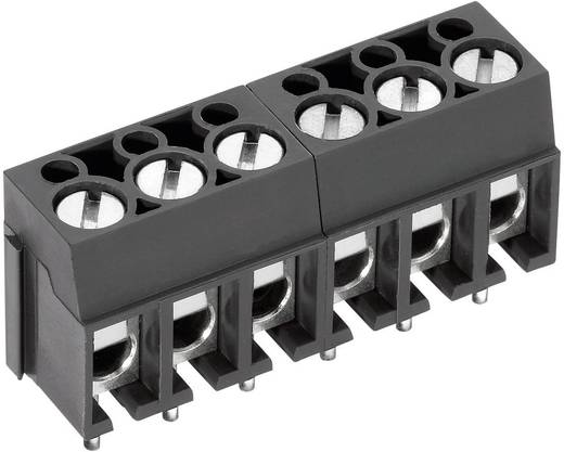 Klemschroefblok 2.50 mm² Aantal polen 10 AK100/10DS-5.0-V PTR Grijs 1 stuks