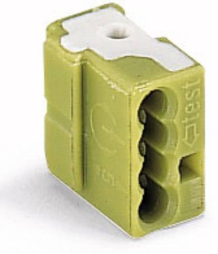 WAGO Verbindingsklem Flexibel: - Massief: 0.5-1 mm² 1 stuks Lichtgroen