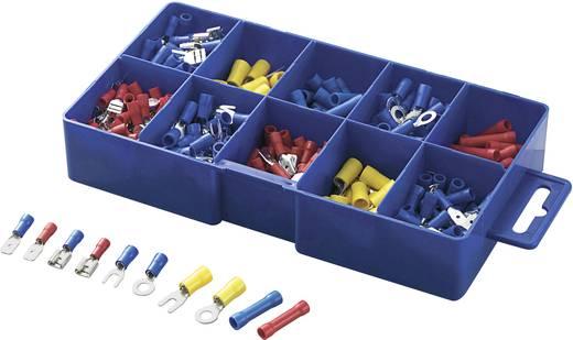 Conrad Components 732038 Kabelschoen-assortiment 0.5 mm² 2.5 mm² Blauw, Geel, Rood 450 stuks