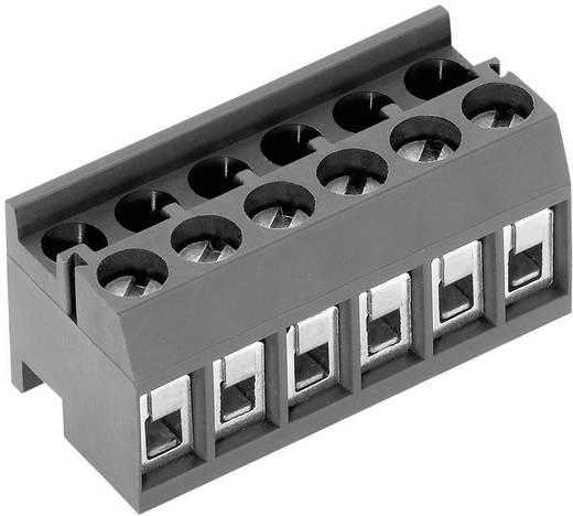 Klemschroefblok 1.50 mm² Aantal polen 10 AK1350/10DS-3.5 PTR Grijs 1 stuks