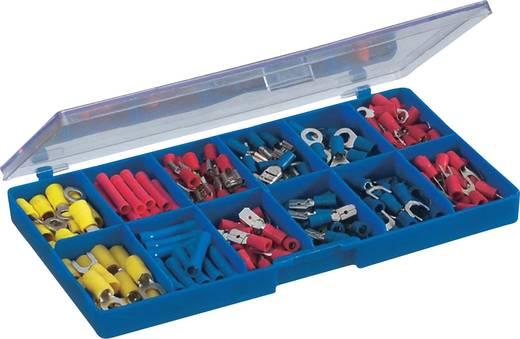 Conrad Components 93013C123 Kabelschoen-assortiment 0.5 mm² 2.5 mm² Blauw, Geel, Rood 230 stuks