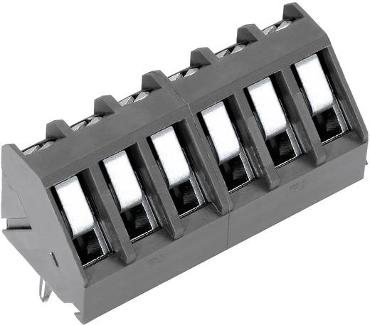 Klemschroefblok 1.50 mm² Aantal polen 3 AKZ300/3-5.0 PTR Grijs 1 stuks