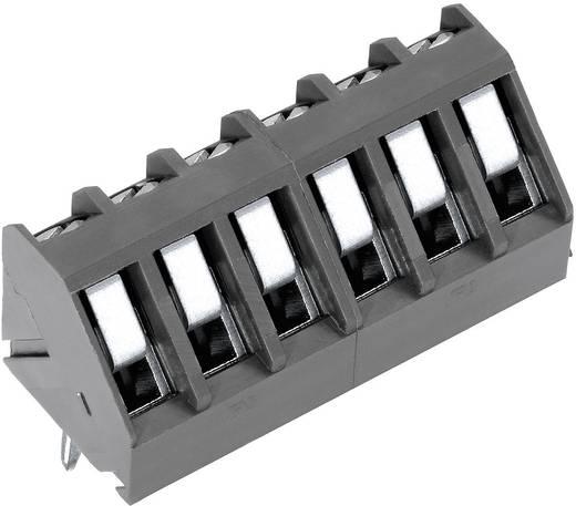 Klemschroefblok 1.50 mm² Aantal polen 6 AK300/6-5.0 PTR Grijs 1 stuks