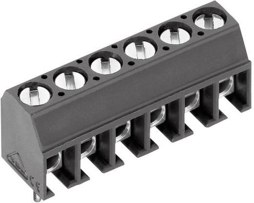 Klemschroefblok 1.00 mm² Aantal polen 6 AK550/6DS-3.5-V PTR Grijs 1 stuks