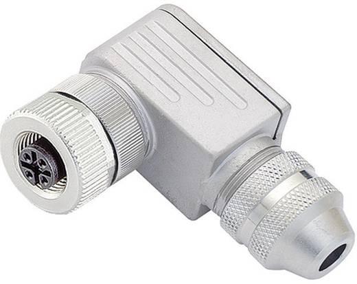 Binder 99-1824-04 Sensor-/actorstekker M12, schroefsluiting, haaks Aantal polen: 4 Inhoud: 1 stuks