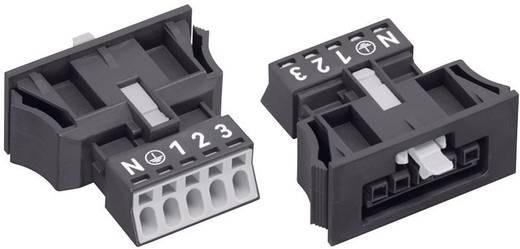 Netstekker Serie (connectoren) WINSTA MINI Bus, recht Totaal aantal polen: 4 + PE 16 A Zwart WAGO 1 stuks