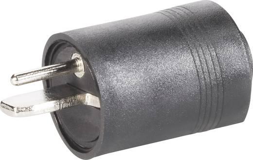 BKL Electronic 205003 Luidsprekerconnector Stekker, recht Aantal polen: 2 Zwart 1 stuks