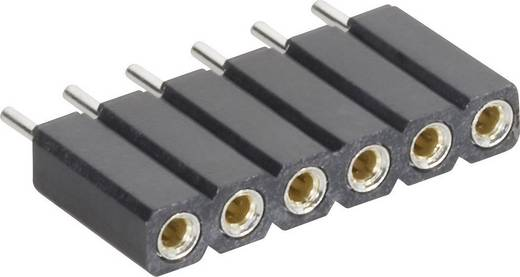 Female connector (precisie) Aantal rijen: 1 Aantal polen per rij: 5 MPE Garry 115-1-005-0-MTF-XS0 1 stuks