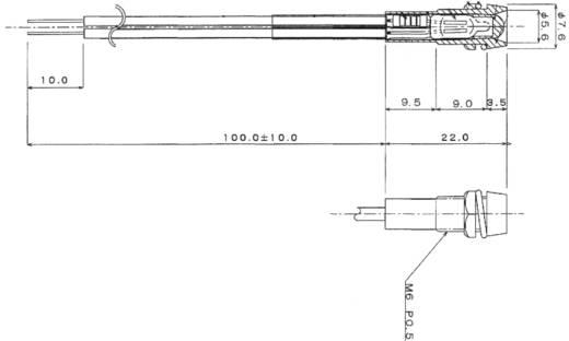 Miniatuur signaallamp 230 V/AC Rood Sedeco Inhoud: 1 stuks
