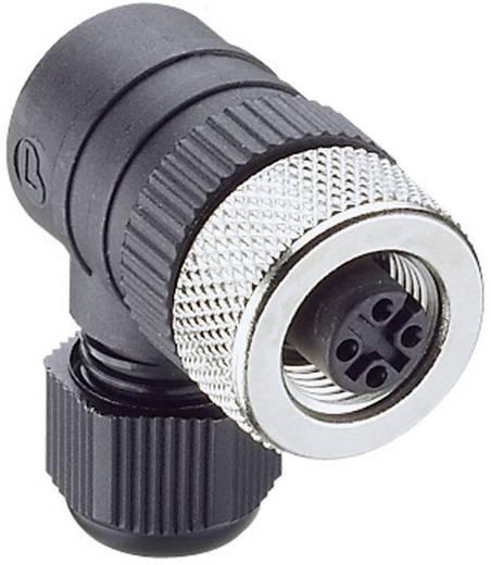 Lumberg Automation RKCW 4/7 Kabelkoppeling, schroefbaar M12 Aantal polen: 4 Inhoud: 1 stuks