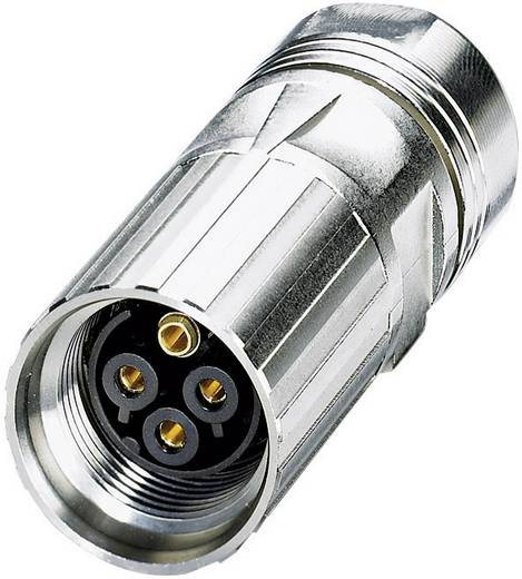 Coninvers ST-3ES1N8A8004 Vermogensconnector - Power M17 - M P20 Zilver 1 stuks