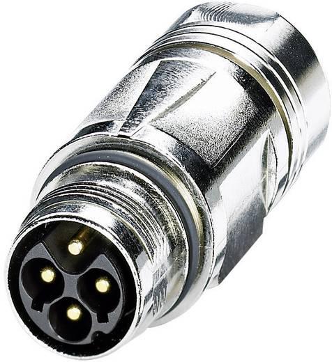 Coninvers ST-3EP1N8A9003S Vermogensconnector - Power M17 - M P20 Zilver 1 stuks