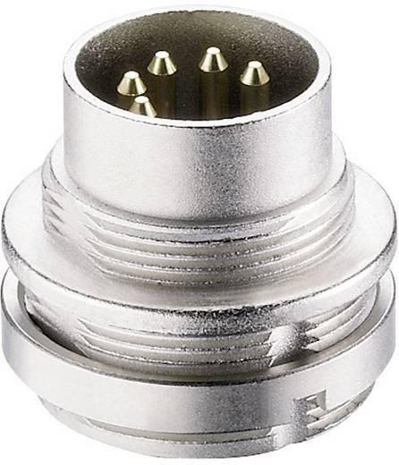 Lumberg 0314 04 DIN-connector Stekker, inbouw verticaal Aantal polen: 4 Zilver 1 stuks