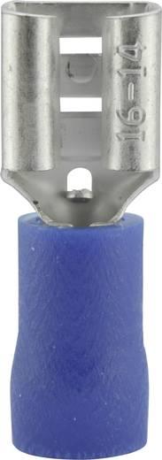 Vogt Verbindungstechnik 3906S Vlakstekker Insteekbreedte: 6.3 mm Insteekdikte: 0.8 mm 180 ° Deels geïsoleerd Blauw 1 st