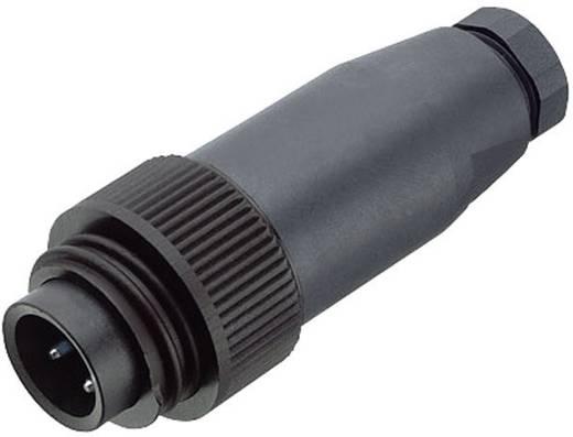 Standaard ronde stekkerverbinding serie 692 Kabelstekker Binder 99-0217-00-07 IP67 Aantal polen: 6 + PE