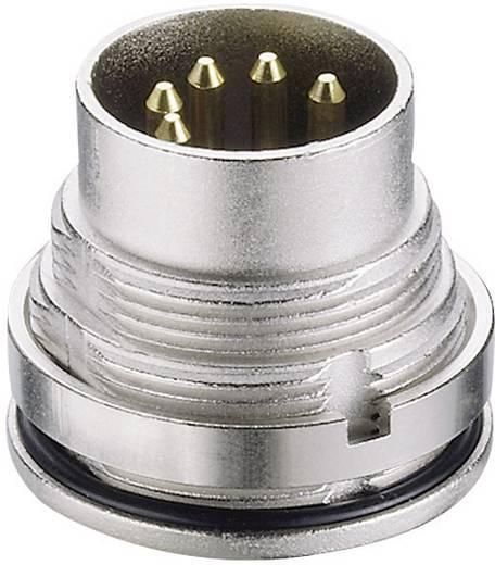 DIN-connector Stekker, inbouw verticaal Lumberg 0315 12 Aantal polen: 12
