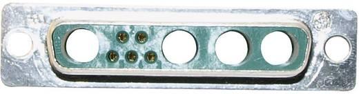Conec 9W4 D-SUB hybride 180 ° Soldeerkelk 1 stuks