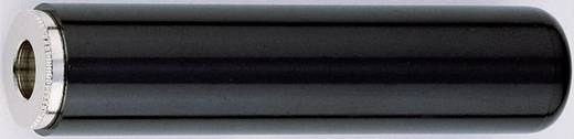 Jackplug 6.35 mm Zwart 1 stuks