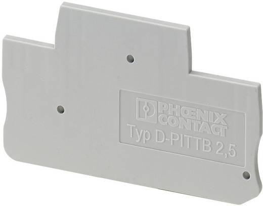 Phoenix Contact D-PTTB 2,5 Afsluitdeksel PT en PTTB serie Geschikt voor: PITTB 2.5 1 stuks