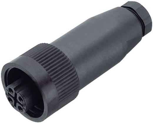 Standaard ronde stekkerverbinding serie 692 Kabelstekker Binder 99-0210-00-04 IP67 Aantal polen: 3 + PE