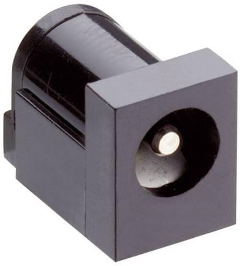 Lumberg 161321 Laagspannings-connector Soort schakelcontact: NC-contact Bus, inbouw horizontaal 6 mm 2.35 mm 1 stuks