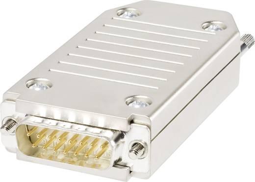 Knorr Tec 10015820 D-SUB stekker 180 ° Aantal polen: 15 Veerklem 1 stuks