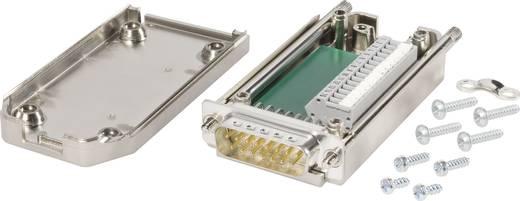 Knorr Tec 10016020 D-SUB stekker 180 ° Aantal polen: 25 Veerklem 1 stuks