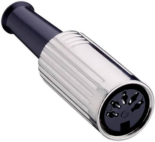 Lumberg 0121 04 DIN-connector Bus, recht Aantal polen: 4 Zilver 1 stuks