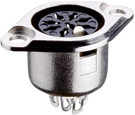 Lumberg 0103 07 DIN-connector Flensbus, contacten recht Aantal polen: 7 Zilver 1 stuks
