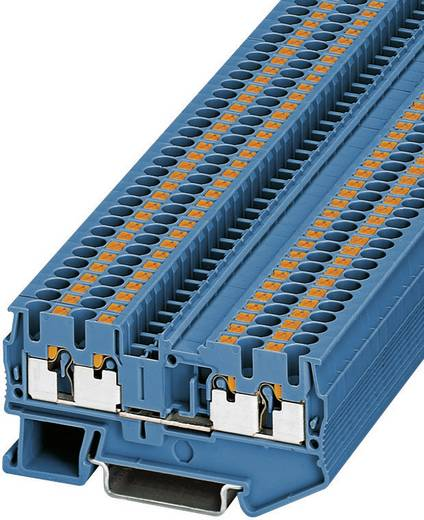 Phoenix Contact PT 2,5-QUATTRO BU Push-in drie-lagige klem PIT-QUATTRO Blauw Inhoud: 1 stuks