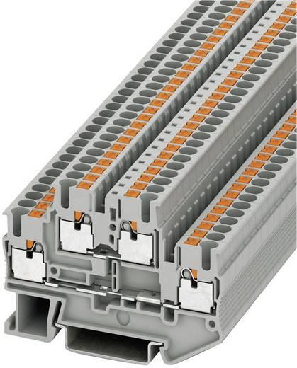 Phoenix Contact PTTB 2,5 Push-In dubbele doorgangsklem PTTB Grijs Inhoud: 1 stuks