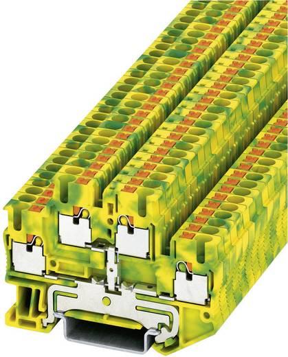 Phoenix Contact PTTB 2,5-PE Push-in drielagige beschermingsklem PITTB-PE Groen-geel Inhoud: 1 stuks
