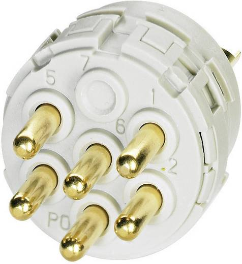 Coninvers RC-06P1N120000 Contactinzetten met soldeercontacten voor serie RC, UC en TU 1 stuks
