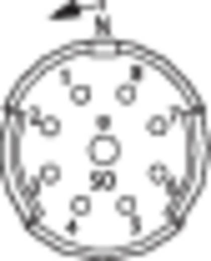 Coninvers RC-12S1N8D0000 Contactinzetten met crimpcontacten voor serie RC, UC en TU 1 stuks