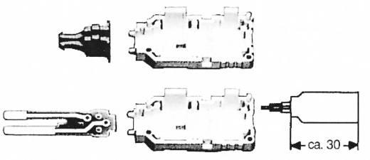 3M 79096-501 00 Accessoires LSA-PLUS 2 serie Meetstekker bouwpakket 4-polig LSA-PLUS 2 strips Grijs 1 stuks