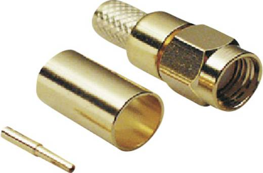 BKL Electronic 409078 SMA-Reverse-connector Stekker, recht 50 Ω 1 stuks