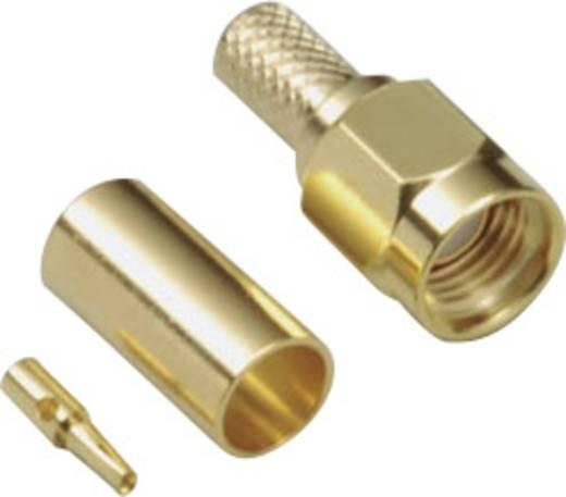 BKL Electronic 0409083 SMA-Reverse-connector Stekker, recht 50 Ω 1 stuks