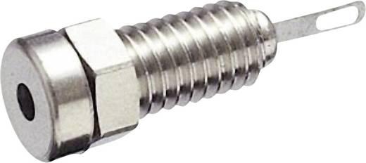 SKS Hirschmann MBU 1 Miniatuur laboratoriumconnector Bus, inbouw verticaal Stift-Ø: 2 mm Zilver 1 stuks
