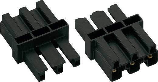 WAGO 770-603 Nettussenkoppeling Netstekker - Netbus Totaal aantal polen: 2 + PE Zwart 1 stuks