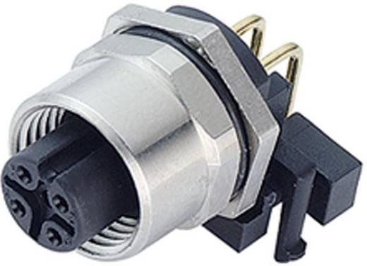 Binder 763-99-3432-202-04 Sensor-/actorstekker M12, schroefsluiting, haaks Aantal polen: 4 Inhoud: 1 stuks