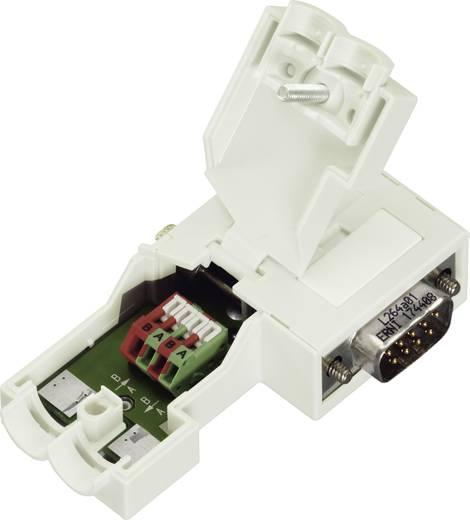 WAGO 750-971 Sub-D-stekkerverbinding voor Profibus Aantal polen: 9 Inhoud: 1 stuks