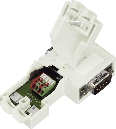 WAGO Sub-D-stekkerverbinding voor Profibus Aantal polen: 9 Inhoud: 1 stuks