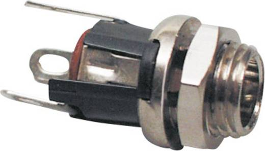 BKL Electronic 072335 Laagspannings-connector Soort schakelcontact: NC (normally closed) Bus, inbouw verticaal 5.5 mm 2