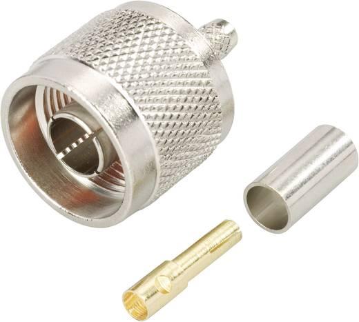 BKL Electronic 0419503 N-Reverse-connector Stekker, recht 50 Ω 1 stuks